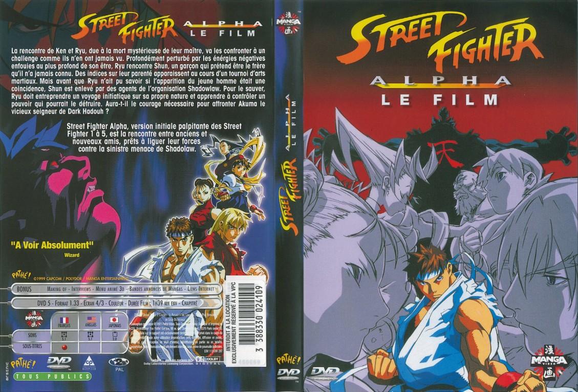 Street Fighter Alpha Le Film DivX FR DvDRip by newseb avi preview 0