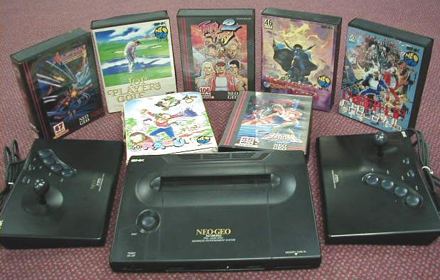 SNK sort Neo-Geo en 1990 Neogeo